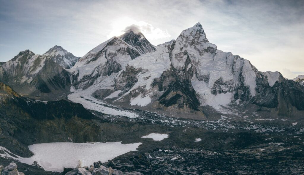 Kala PattharV Trek Viewpoint Everest Base Camp Mountains Sunrise Hike