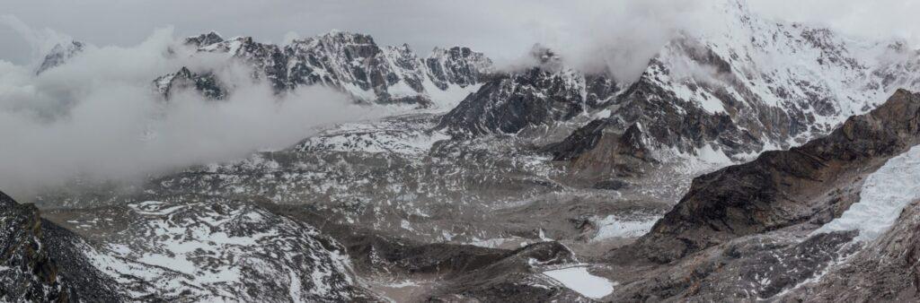 Kala Pathar Viewpoint Everest Base Camp Mountains Sunrise Hike