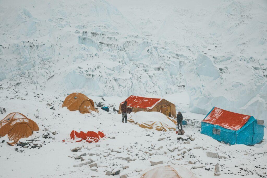 Mount Everest Base Camp Tents