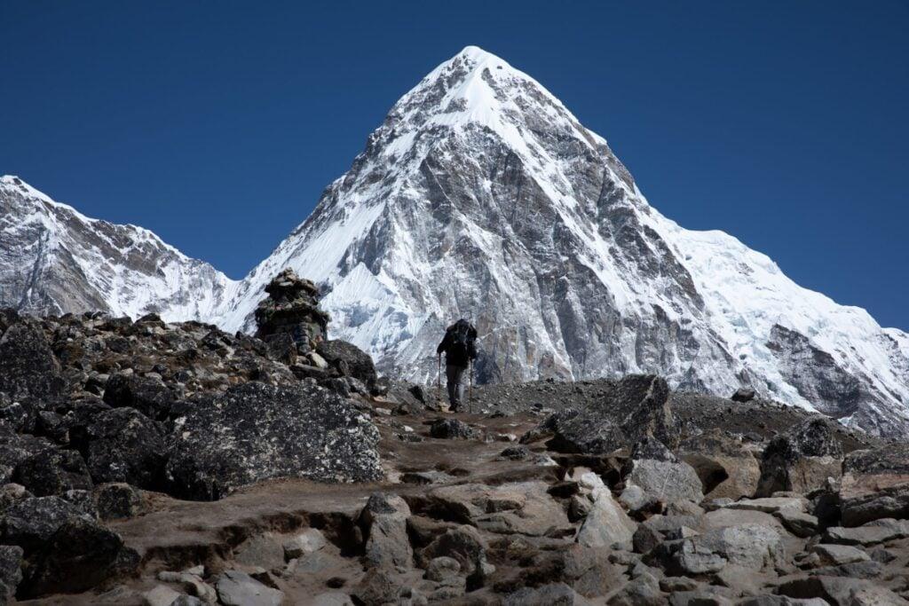 Mt Pumori From the Everest Base Camp Trek