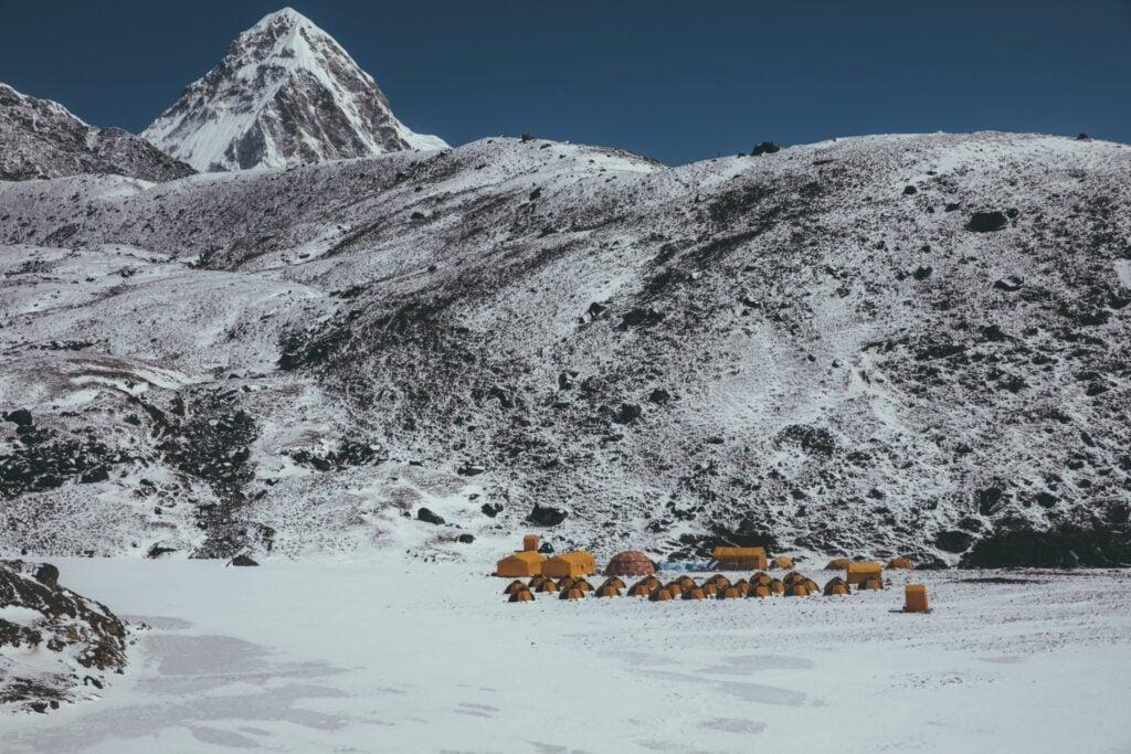 Mt Lobuche Base Camp, Three Passes Trek