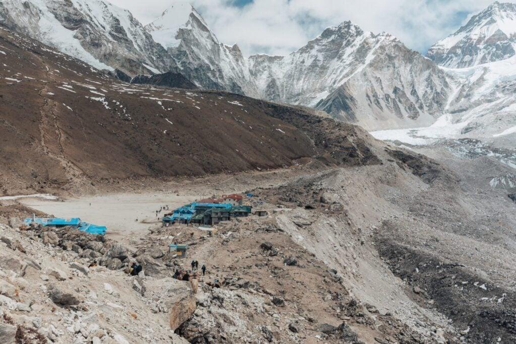 Gorak Shep from The Everest Base Camp Trek