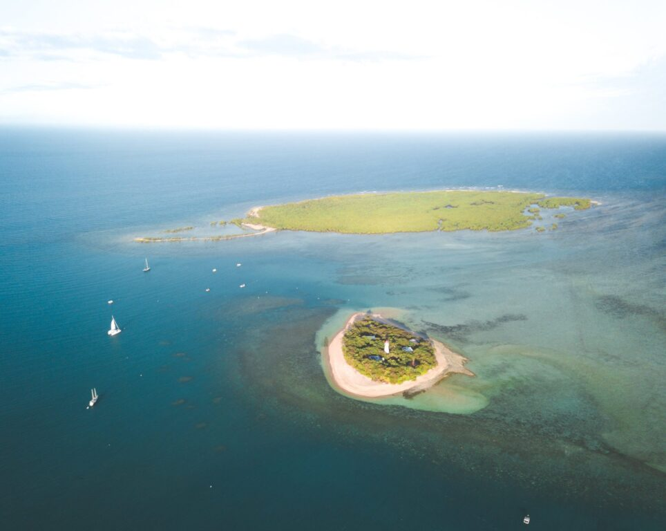 Low Island and Woody Island, Low Isles