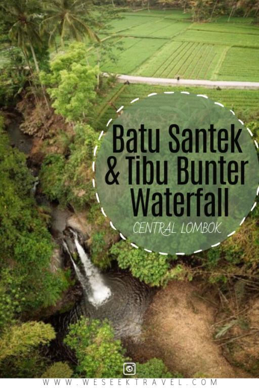 Batu Santek & Tibu Bunter waterfall