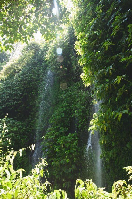BENANG KELAMBU WATERFALL, LOMBOK INDONESIA