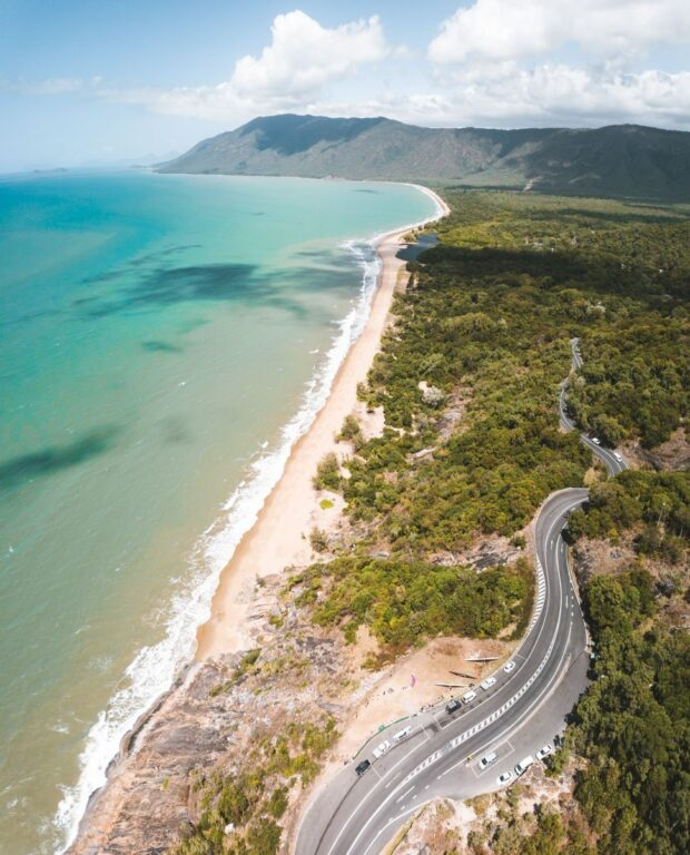 REX LOOKOUT GREAT BARRIER REEF DRIVE FROM CAIRNS TO CAPE TRIBULATION