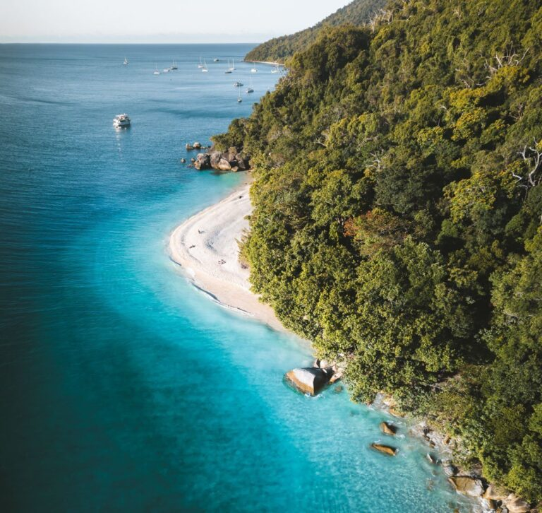 NUDEY BEACH ON FITZROY ISLAND, CAIRNS THINGS TO DO,