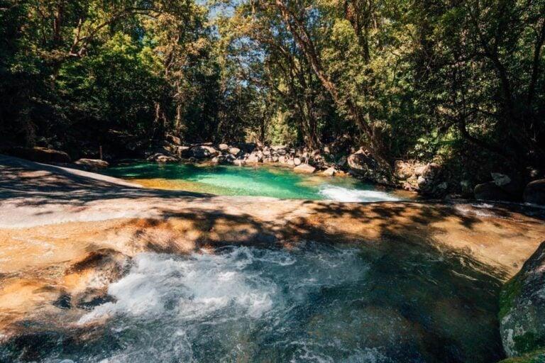 JOSEPHINE FALLS WATERFALL ROCK SLIDE