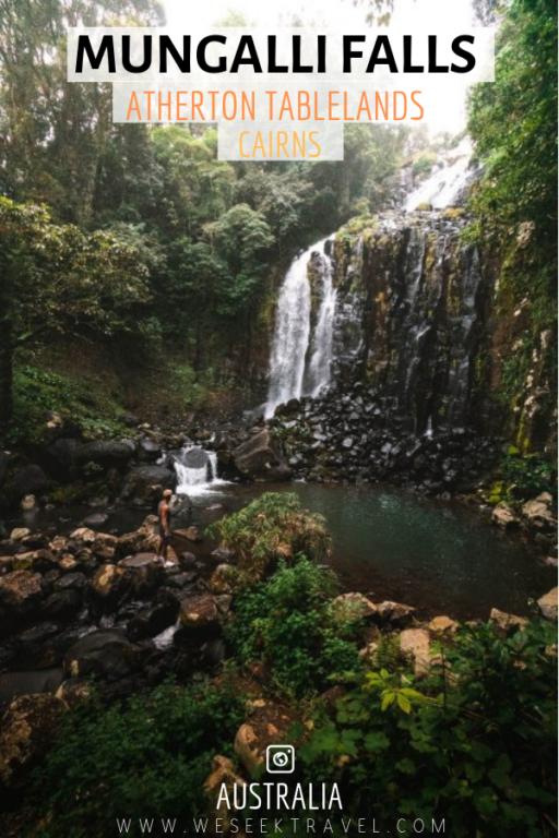 Mungalli Creek Falls Atherton Tablelands Cairns