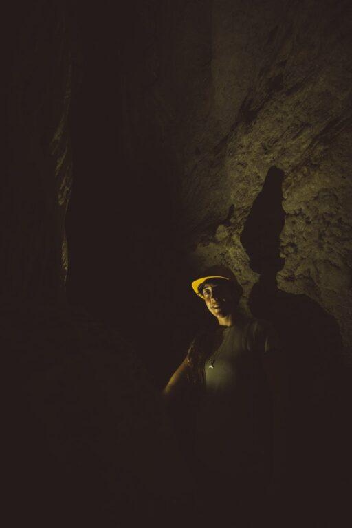 HAYLEA EXPLORING BATU CERMIN CAVE IN LABUAN BAJO