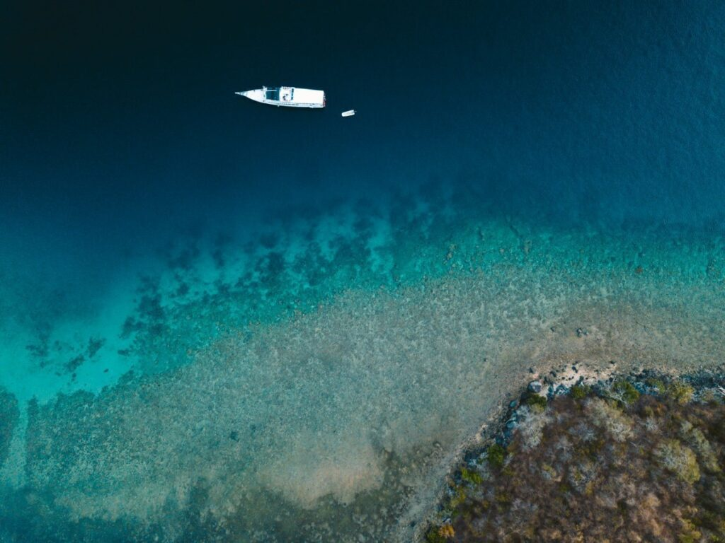 MOYO ISLAND AERIAL DRONE