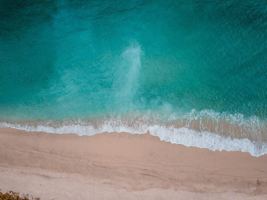 DRONE LOMBOK BEACH