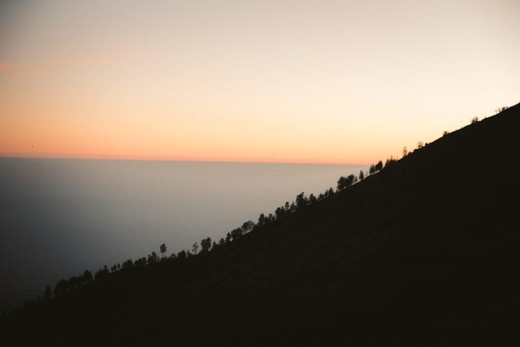 MOUNT RINJANI SUNSET