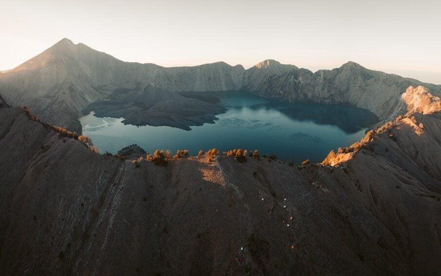 MOUNT RINJANI CRATER RIM HIKE FOR SUNRISE, SENARU TREKKING