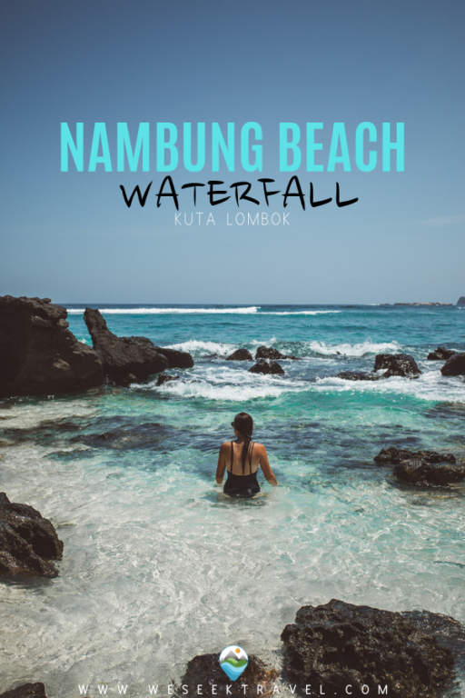 Nambung Beach Waterfall