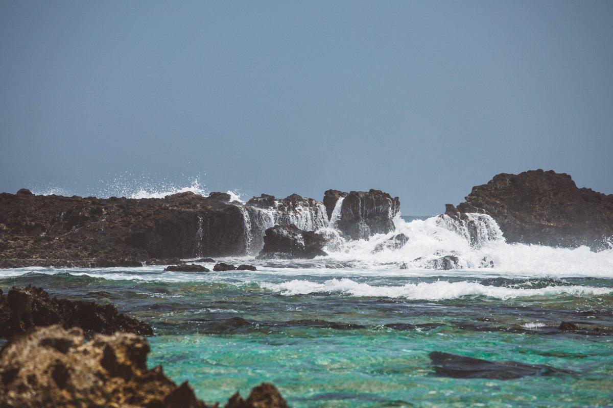 NAMBUNG BEACH WATERFALL, LOMBOK