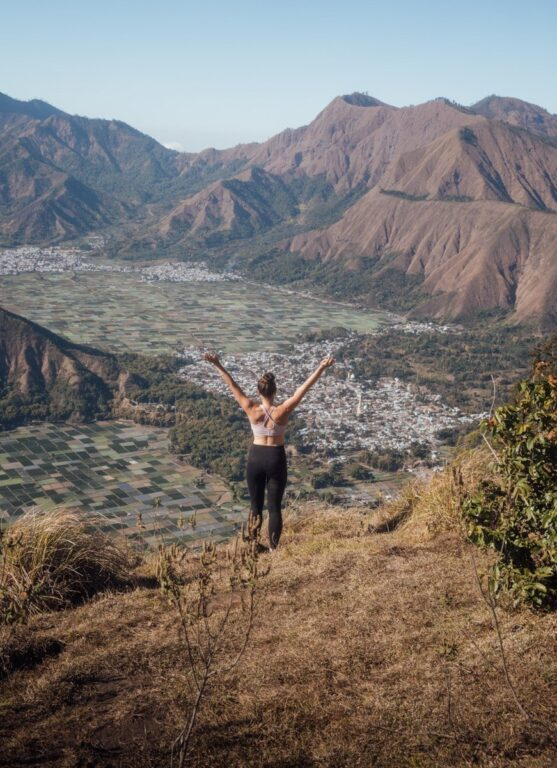 PERGASINGAN HILL HIKE WITHOUT A GUIDE, LOMBOK SOFT TREKKING