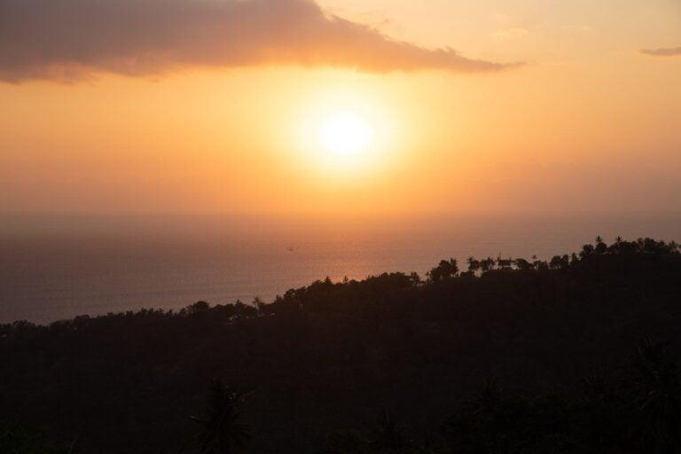 BUKIT MALASE SUNSET VIEWPOINT IN SENGGIGI