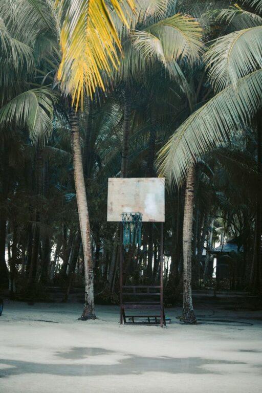 BASKETBALL COURT ON MABUL ISLAND