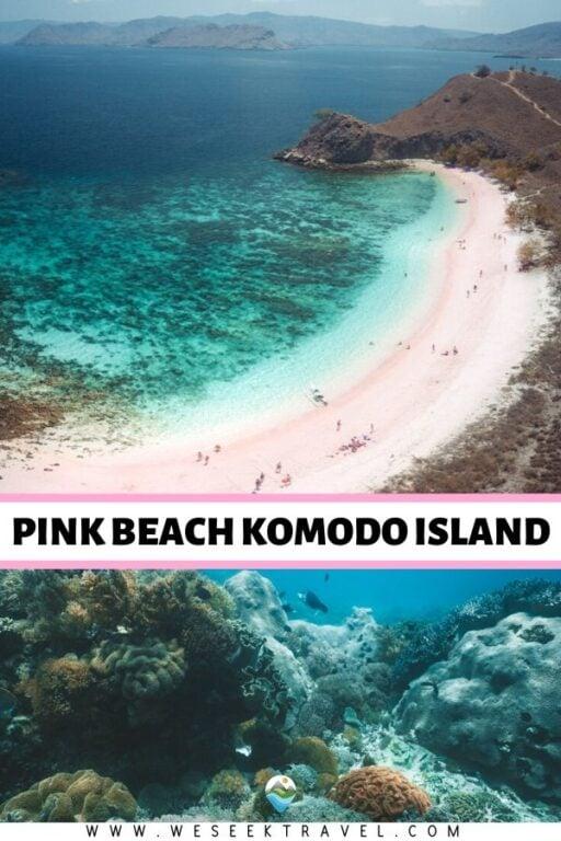 Pink Beach Komodo Island - Pink Sand Beach and Epic Snorkeling