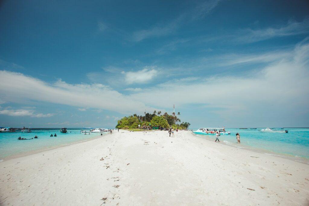 BEACH ON SIBUAN ISLAND