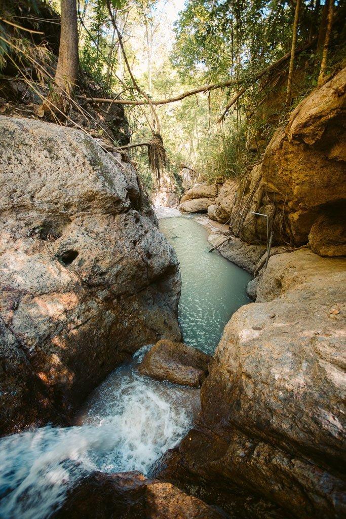 Pam Bok Waterfall Cliff Jumping Spot