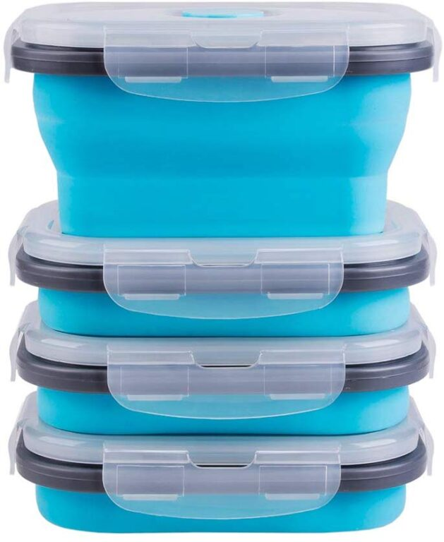 COLLAPSABLE CONTAINERS FOR HIKING AND TRAVEL