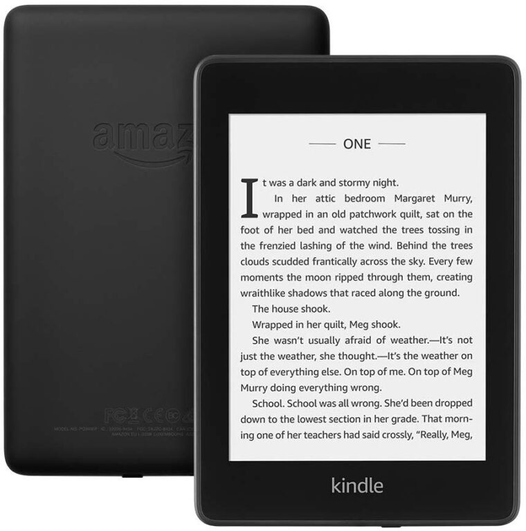 KINDLE PAPERWHITE EREADER FOR HIKING AND TRAVEL