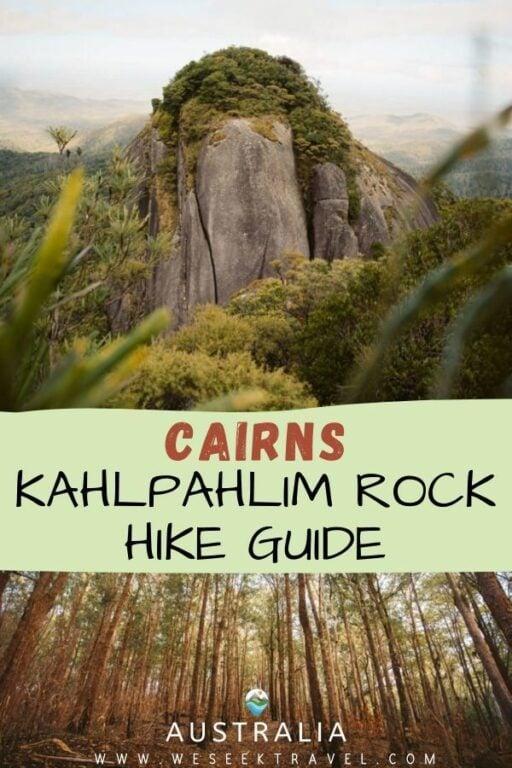 KAHLPAHLIM ROCK HIKE (LAMBS HEAD) CAIRNS HIKING GUIDE