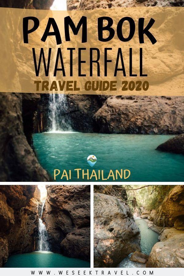Pam Bok Waterfall Pai - Travel Guide 2020
