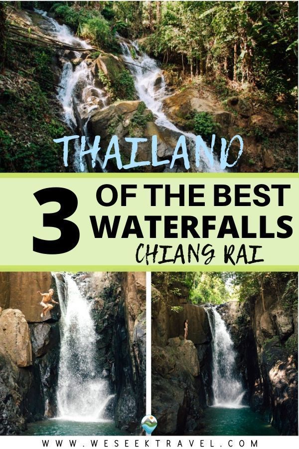 3 Must-Visit Waterfalls Near Chiang Rai, Thailand
