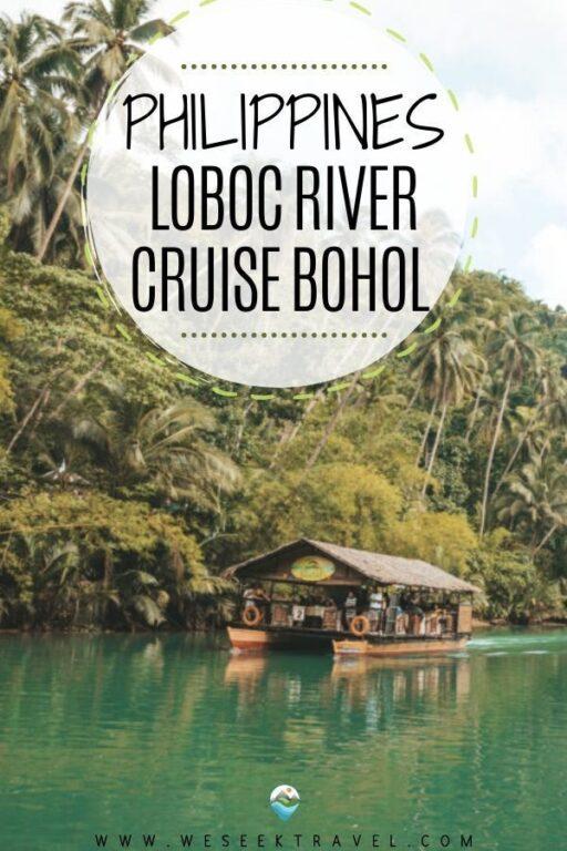 Cruising Down Loboc River, Bohol Philippines