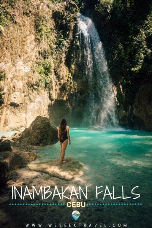 Exploring Inambakan Falls In Ginatilan, Cebu
