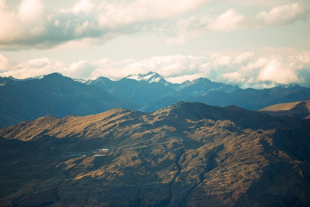 MOUNT ASPIRING FROM THE REMARKABLES