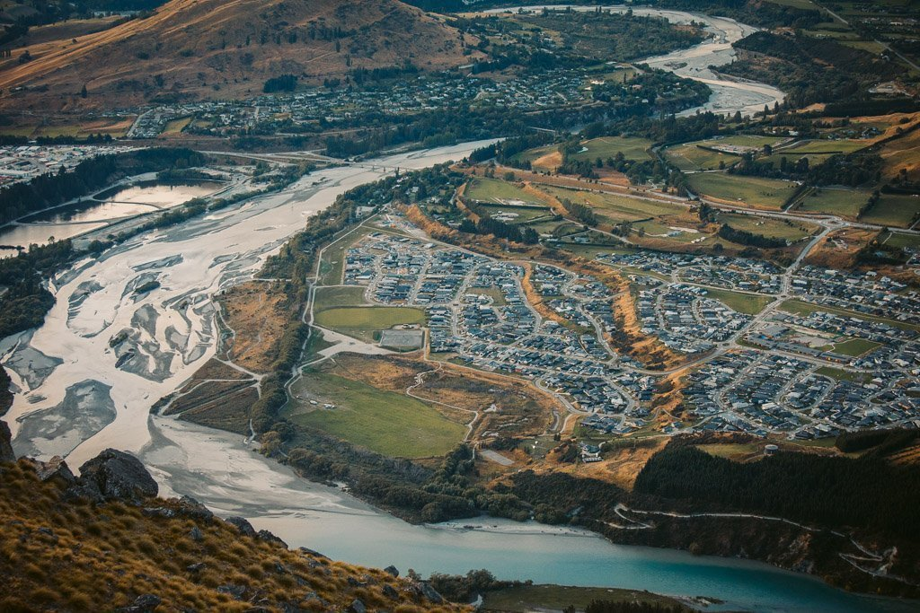 SHOTOVER COUNTRY FROM LAKE ALTA SADDLE VIEWPOINT