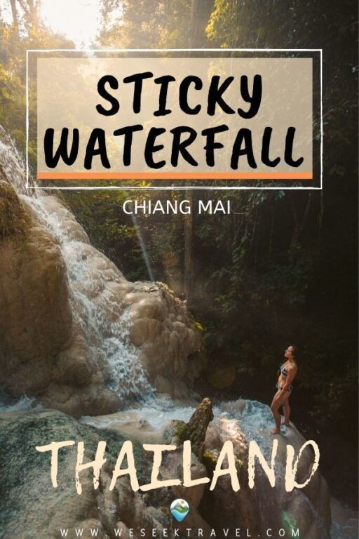 Sticky Waterfall Chiang Mai | Complete Guide to Bua Tong Waterfall