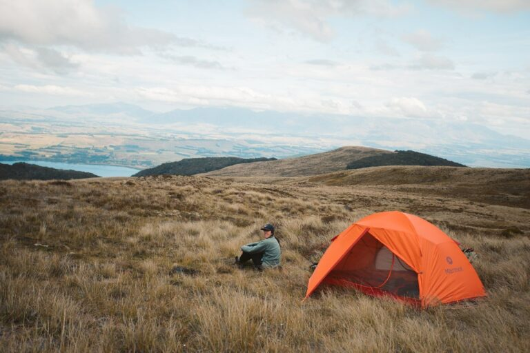 CAMPING AT LUXMORE HUT