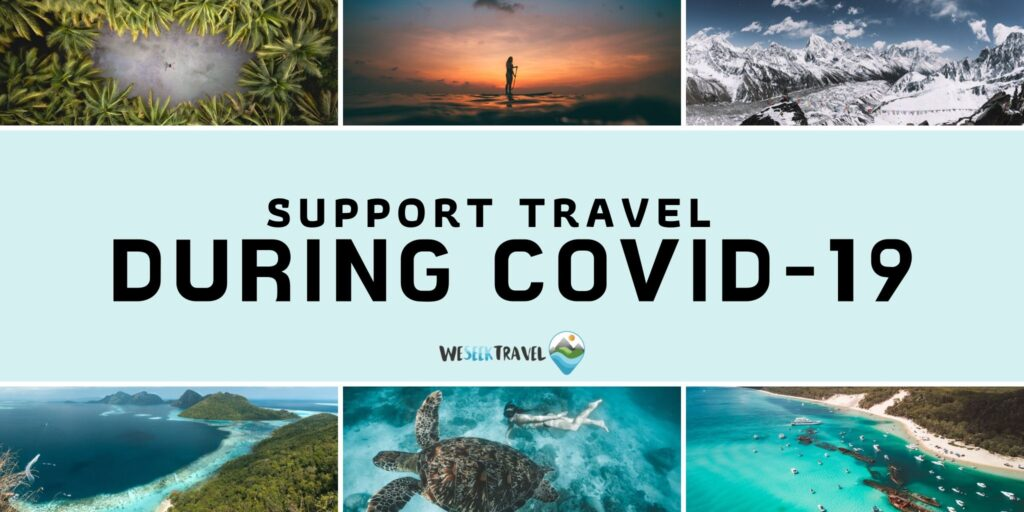 How to support the travel industry during the covid-19 pandemic