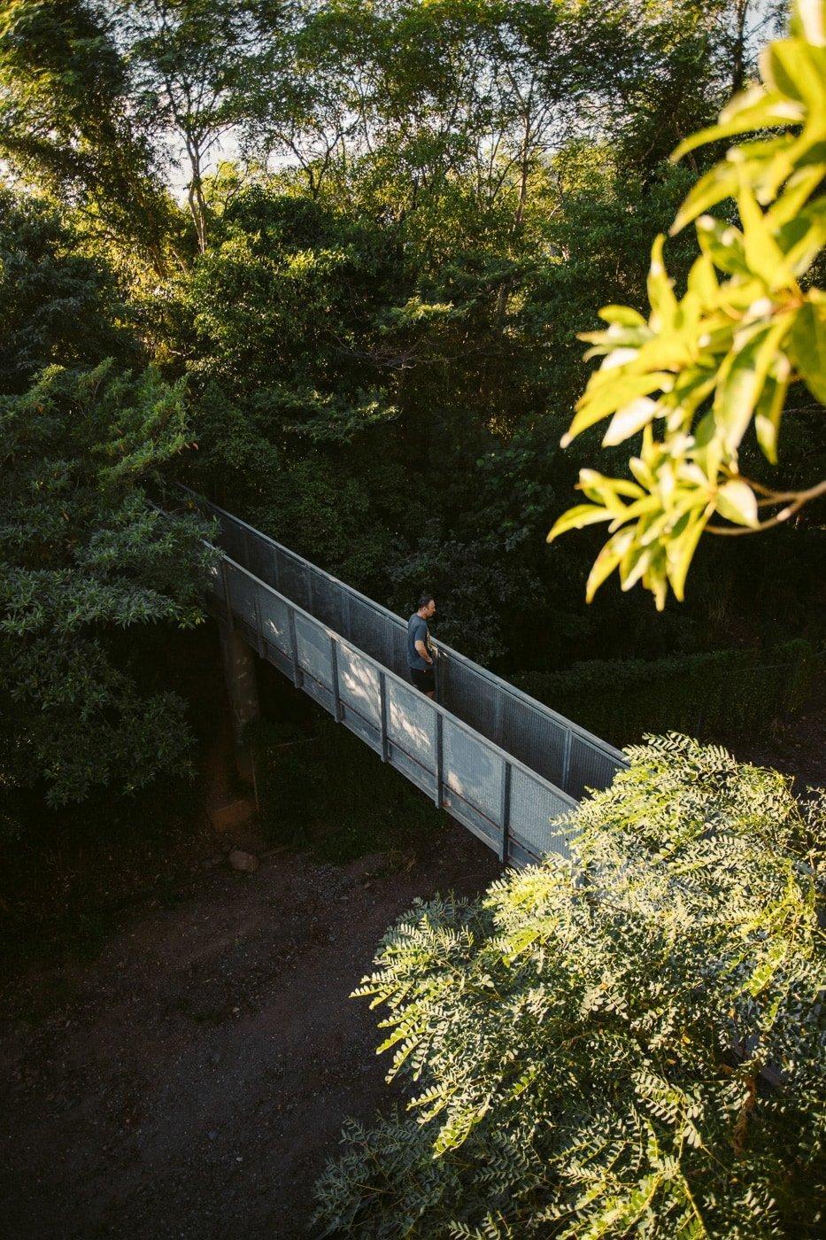 douglas track railway crossing bridge