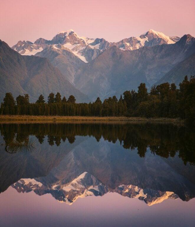 MATHESON LAKE NEW ZEALAND