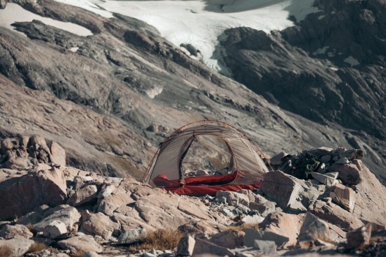 CAMPING AT THE MUELLER HUT