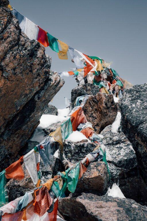 TREKKING THE RENJO LA PASS ON THE THREE PASSES TREK IN NEPAL