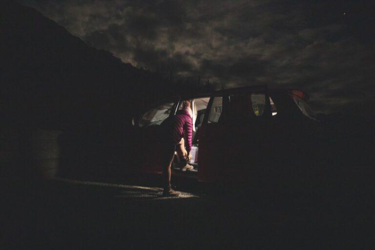 ROYS PEAK CAR PARK