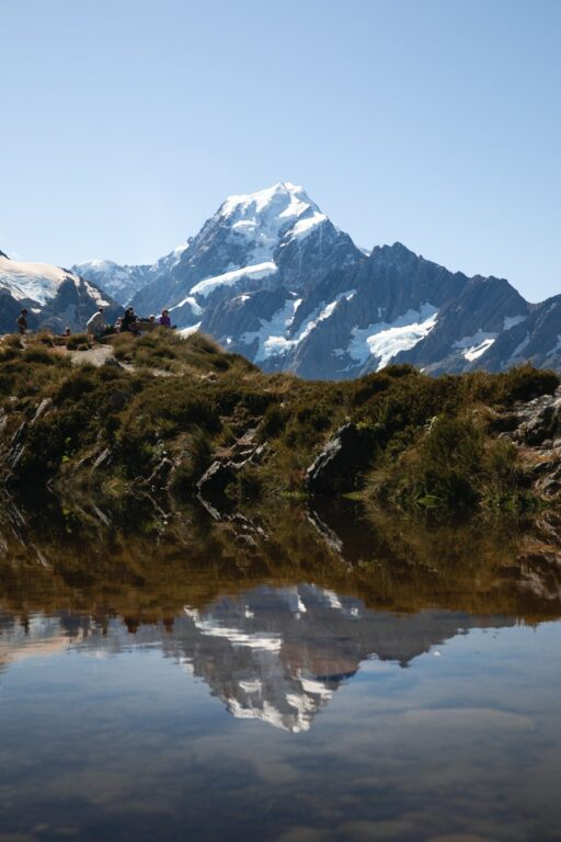 SEALY TARNS REFLECTIVE POOLS MOUNT COOK PHOTOGRAPHY