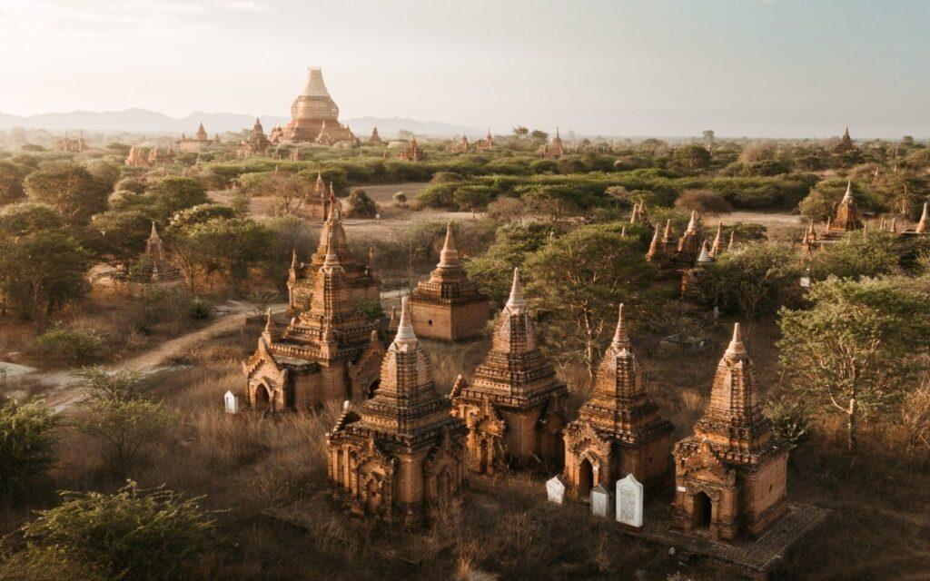 Bagan Temples and Pagodas, Myanmar