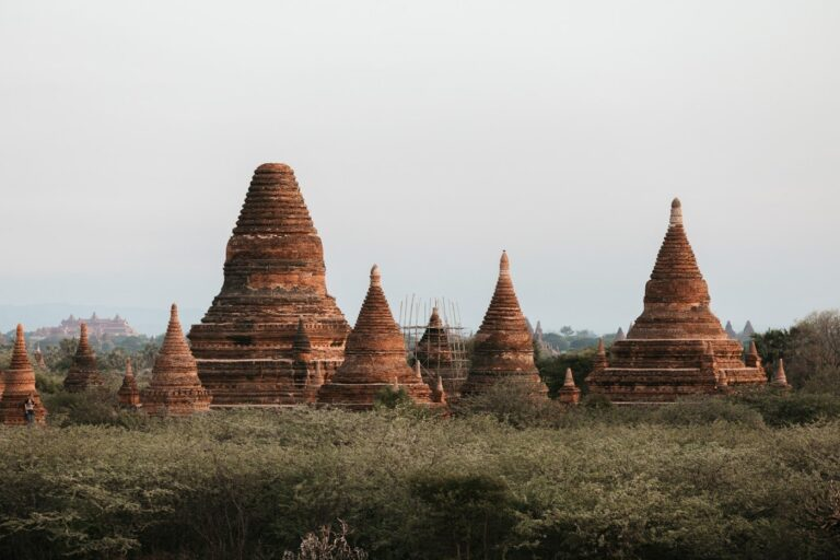SUNRISE AT OLD BAGAN