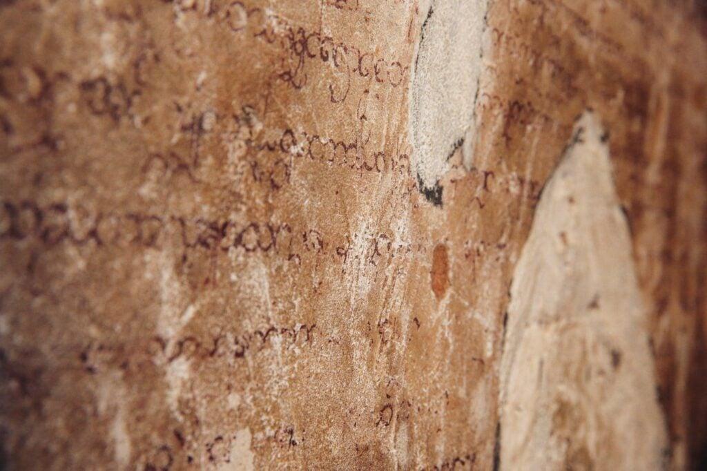 ANCIENT SANSKRIT WRITING IN BAGAN
