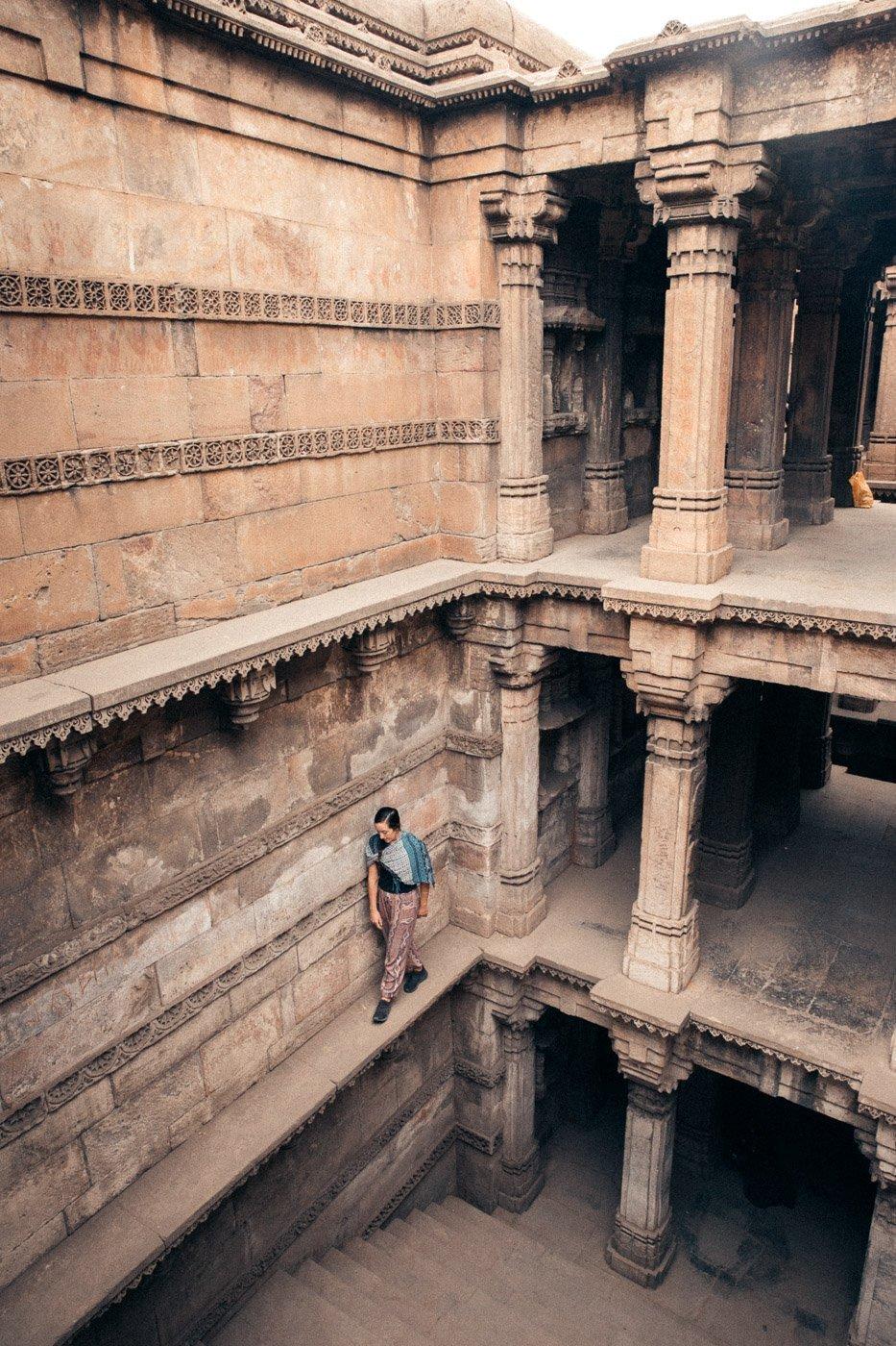 DADA HARIR STEPWELL IN AHMEDABAD INDIA