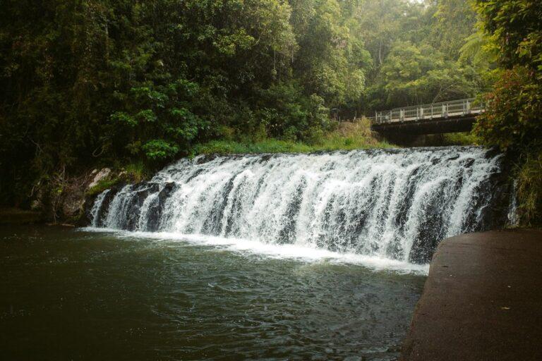 Malanda Falls Waterfall