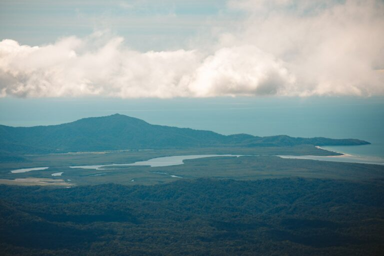 DAINTREE RIVER VIEW FROM DEVILS THUMB
